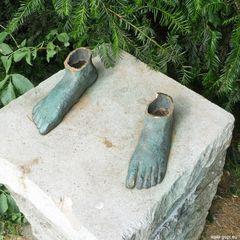 Offene Beine