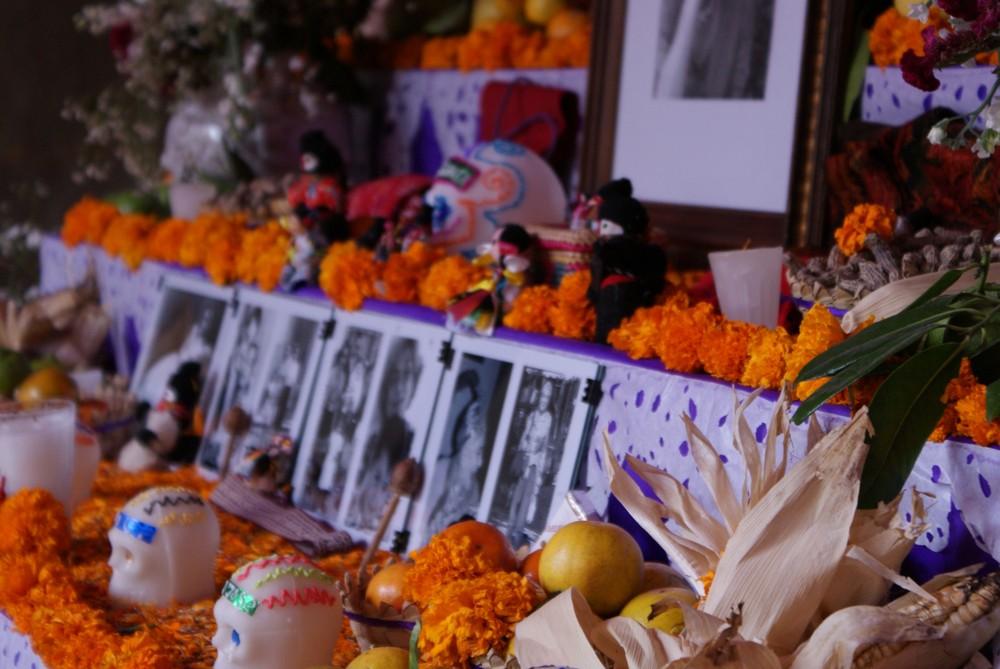 Ofrenda en Querétaro