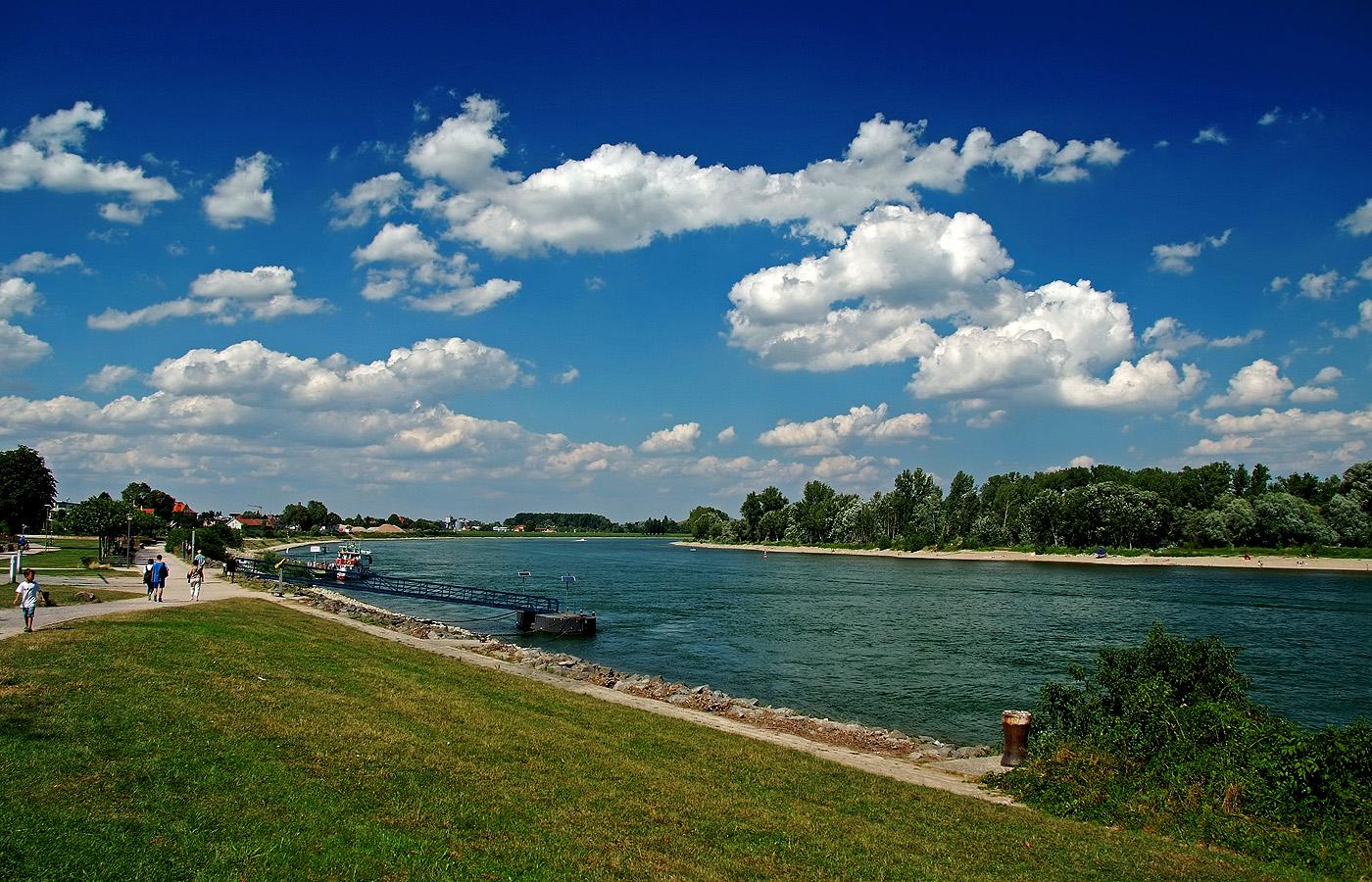 Oh, wie ist`s am Rhein so schön. .....