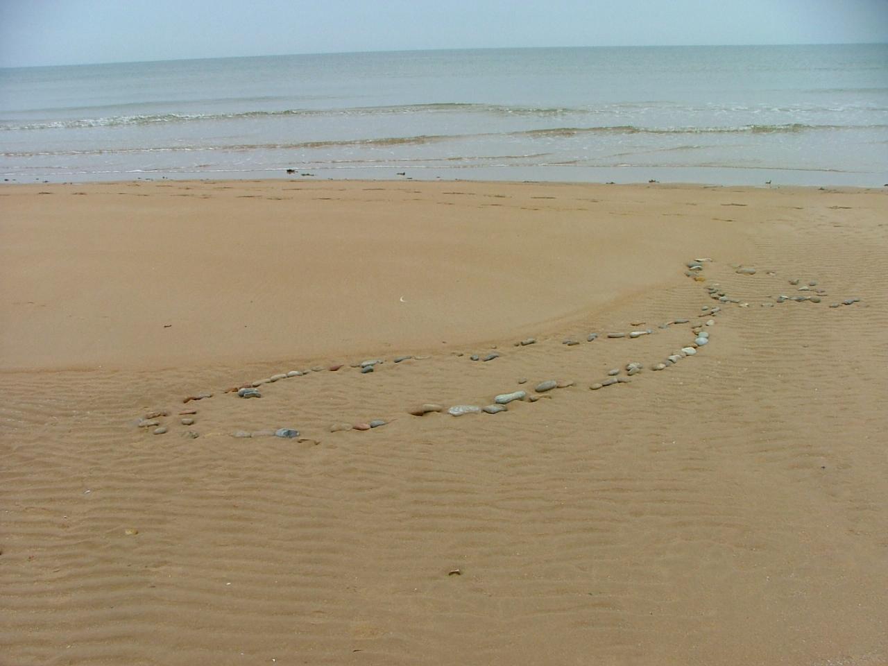 Ohama Beach in der Normandie