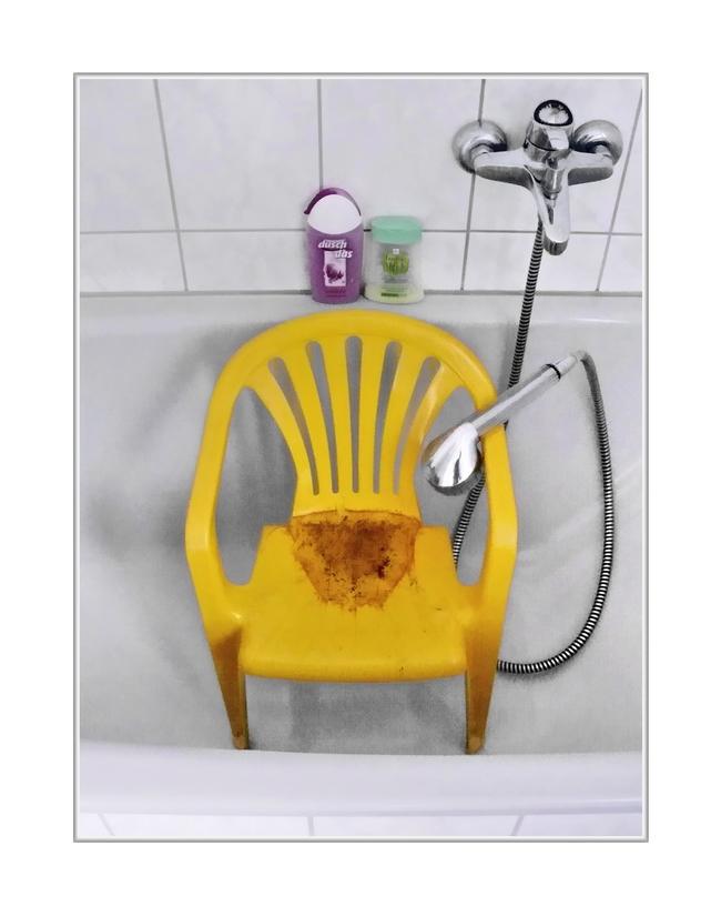 ohhhh ...chair baby braucht wohl Windeln