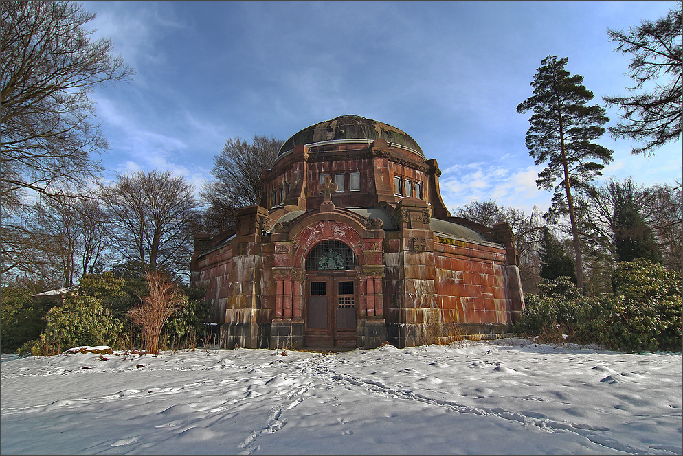 ** Ohlsdorf im Winter *