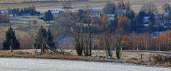 Ohne die ersten Schneeflocken wären diese Bilder von Fürstenwalde...