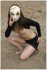 ohne Maske...