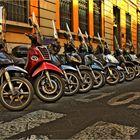 Ohne Roller geht in Florenz nichts