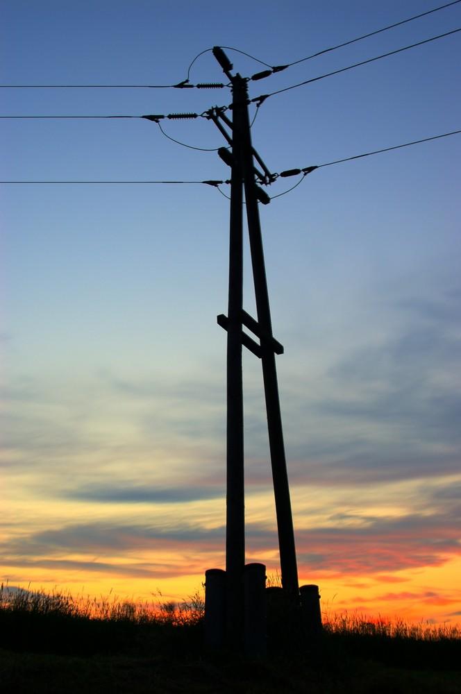 ohne Strom....