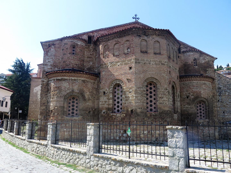 Ohrid Kirche zur heiligen Sofia
