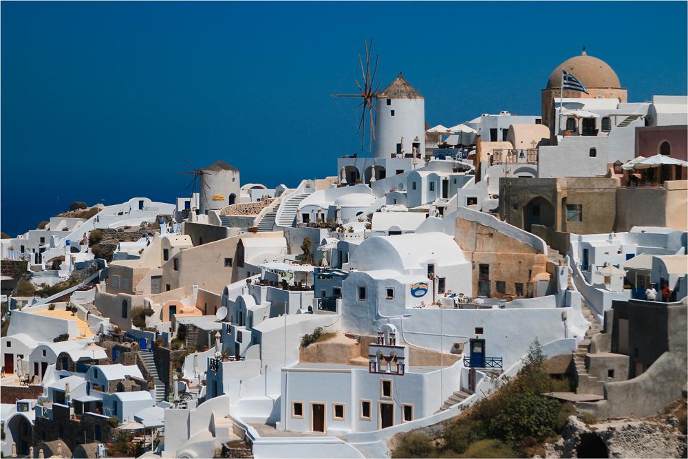 Oia - Ansichten einer Stadt II