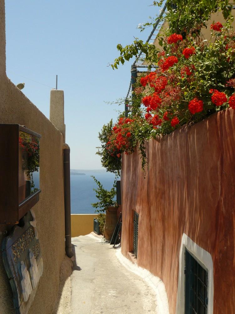 Oia - great town of Santorini