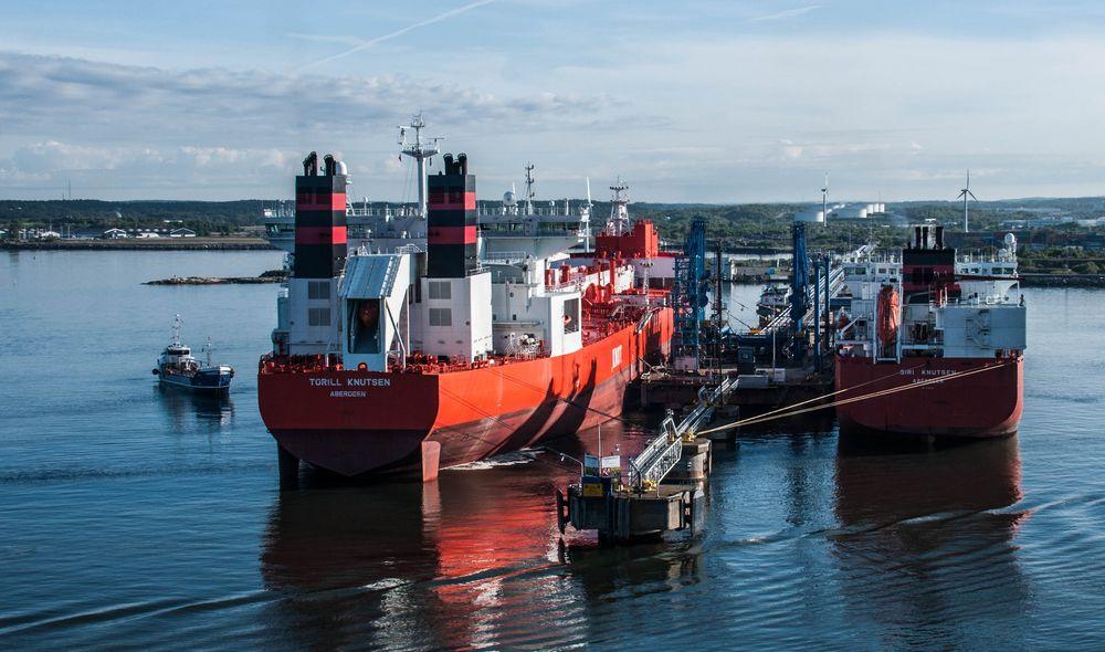 Oil-Hafen Göteborg