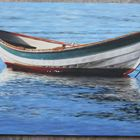 Oil Painting on Wood Panel