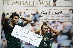 OJE NIEDERLAGE ein Fussballtext von MT +Rio