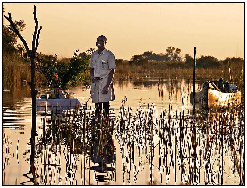 Okavango Sundowner