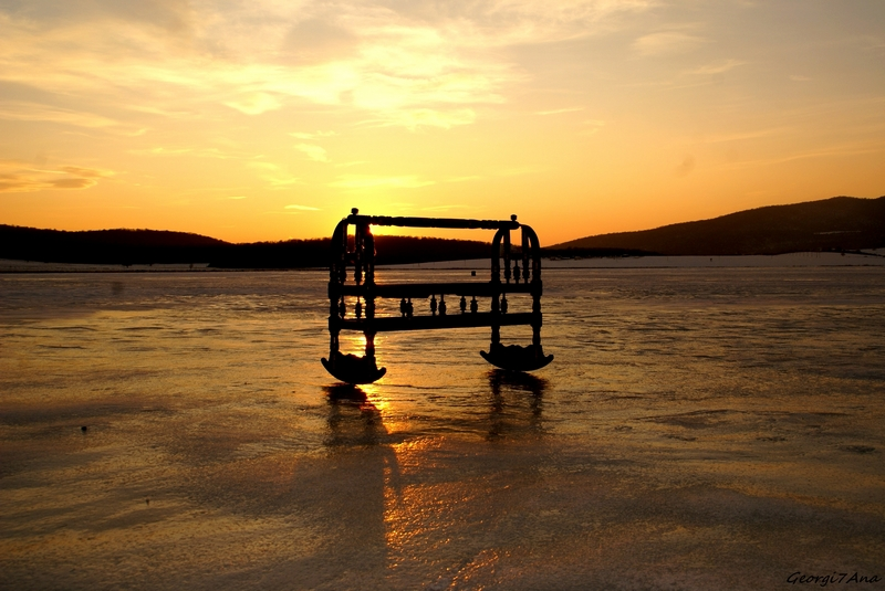 okros akvani (Lago Basaleti)