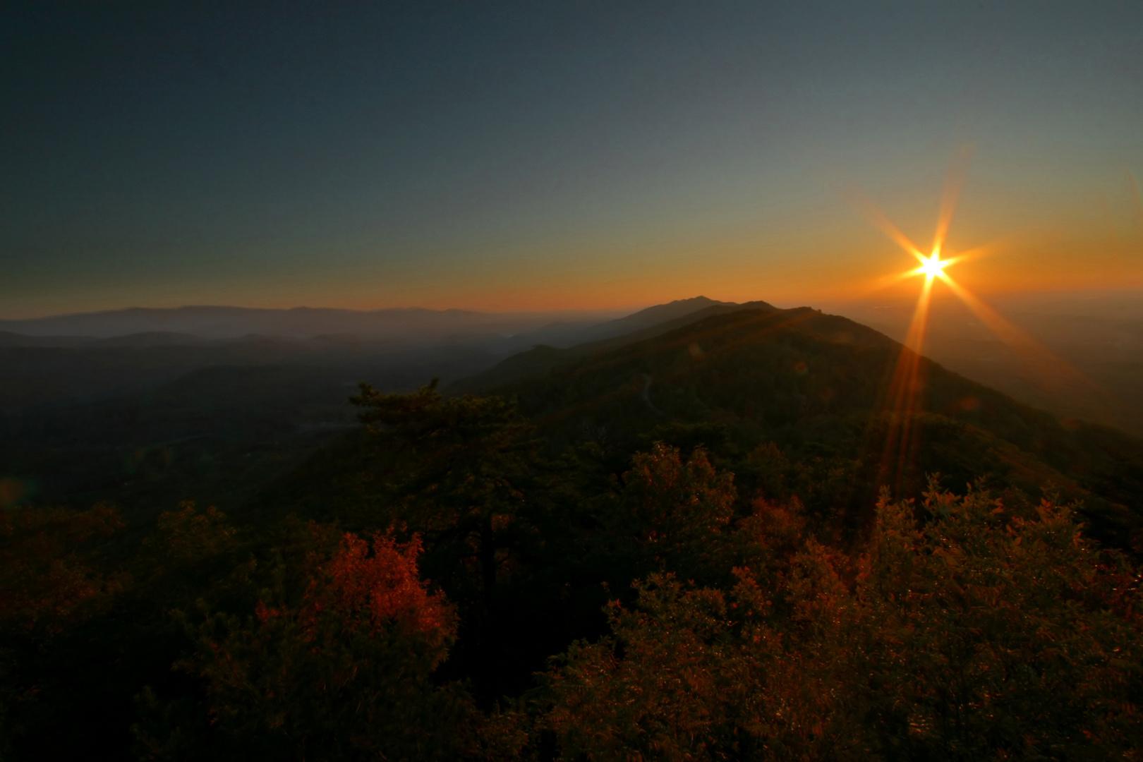 Oktober in den Smoky Mountains