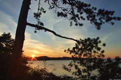 Oktoberabend am Selenter See