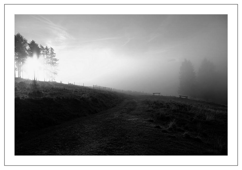 Oktobermorgen auf der Ebnerhütte