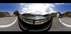 Okutama Lake 360°panorama