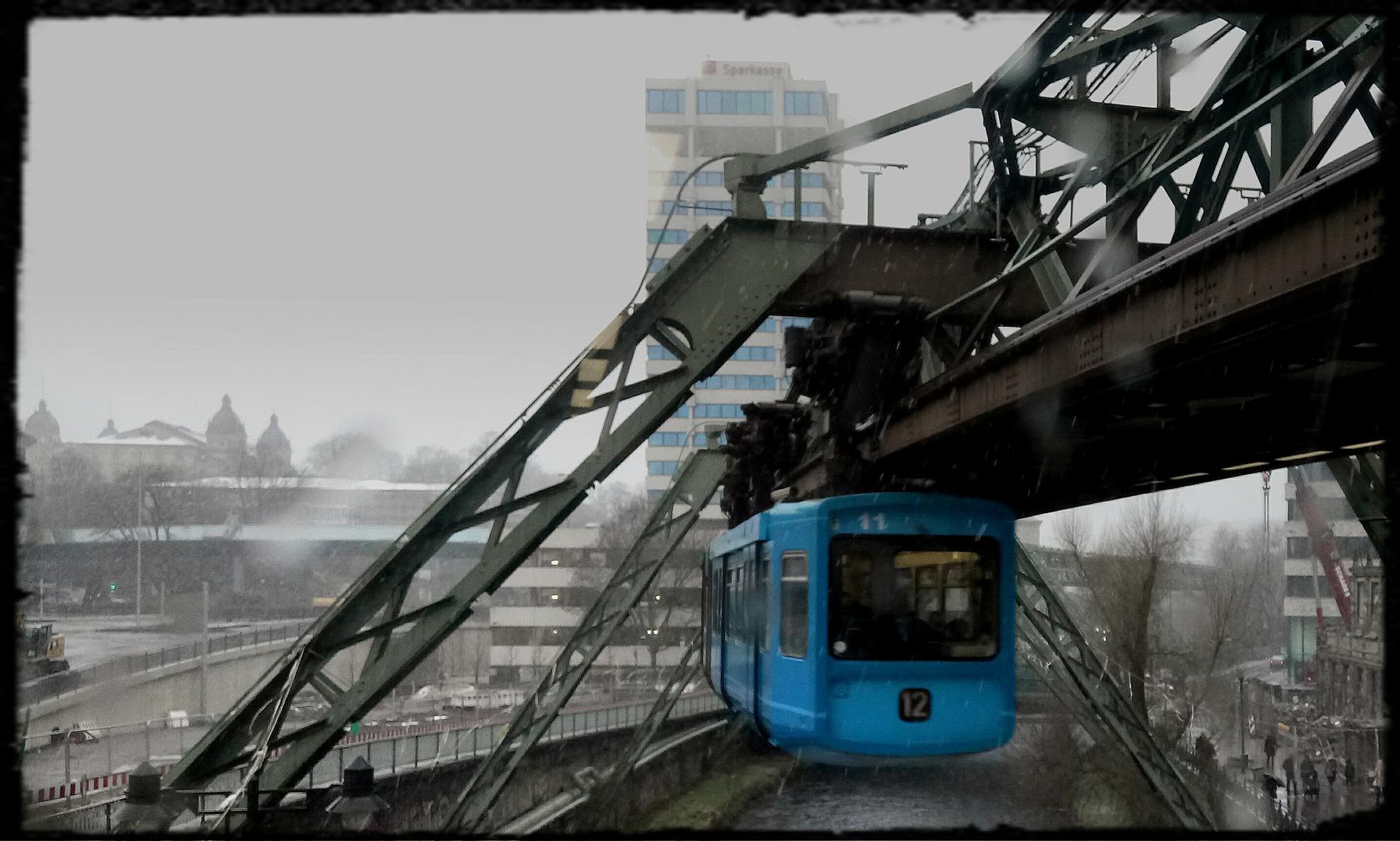 Ol' blue train