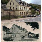 Olbernhau Gasthof Stadt Dresden 1901 und heute