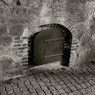 Old Basement door