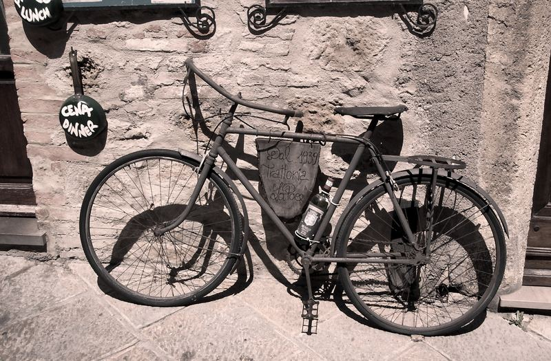 old bicycle ~