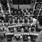 Old cameras, Camden, London