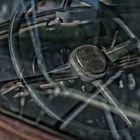 Old Chevy steer wheel