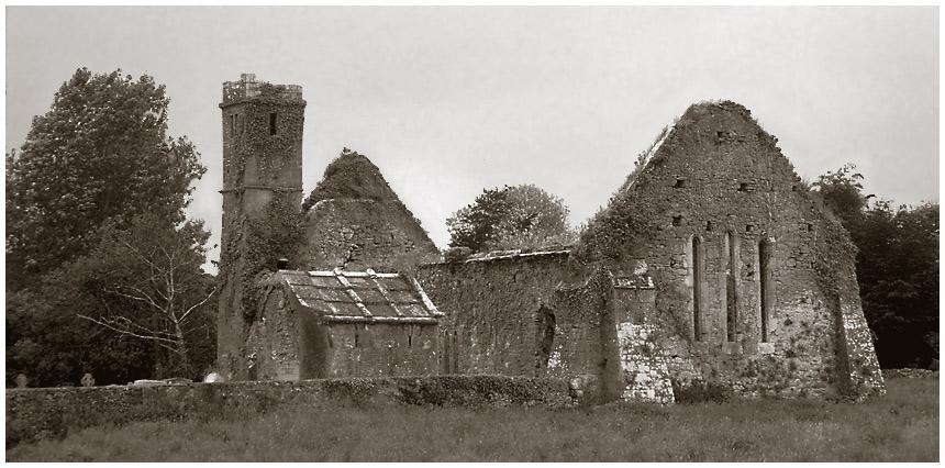 Old Church near Burrishole Abbey