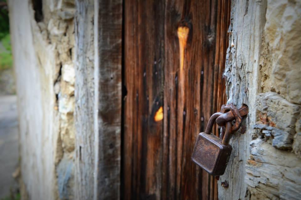 Old closed door...Veles