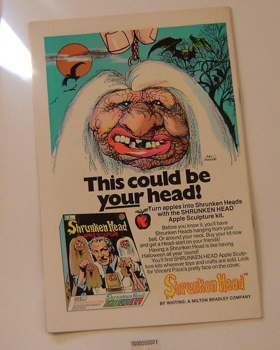 Old Comic Ad