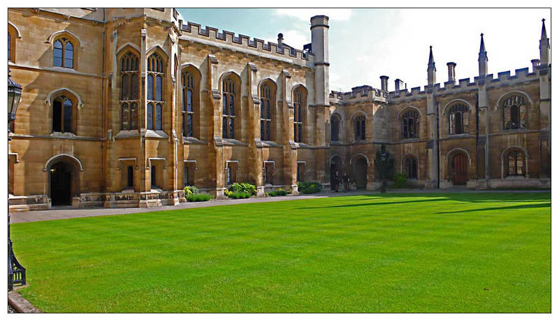Old Court des Pembroke College in Cambridge