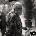 Old cyclist