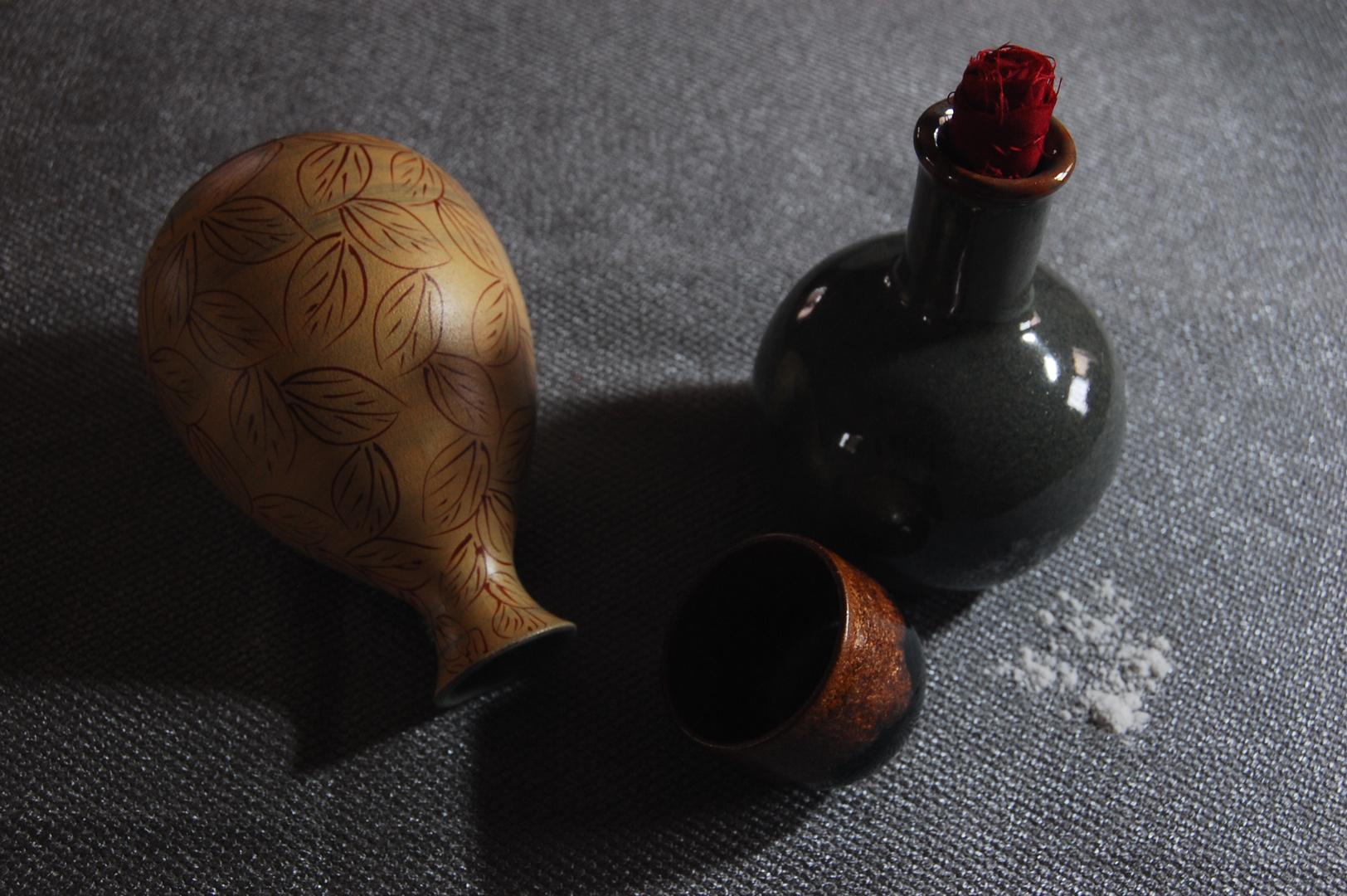Old Flasks