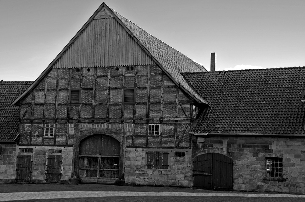 Old German farmhouse