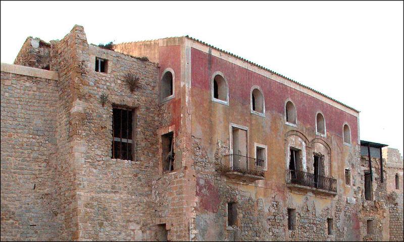 Old ibiza town