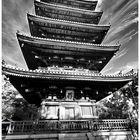 Old Japan Pagoda