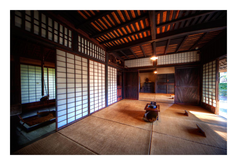 Old Japanese Farmer's House