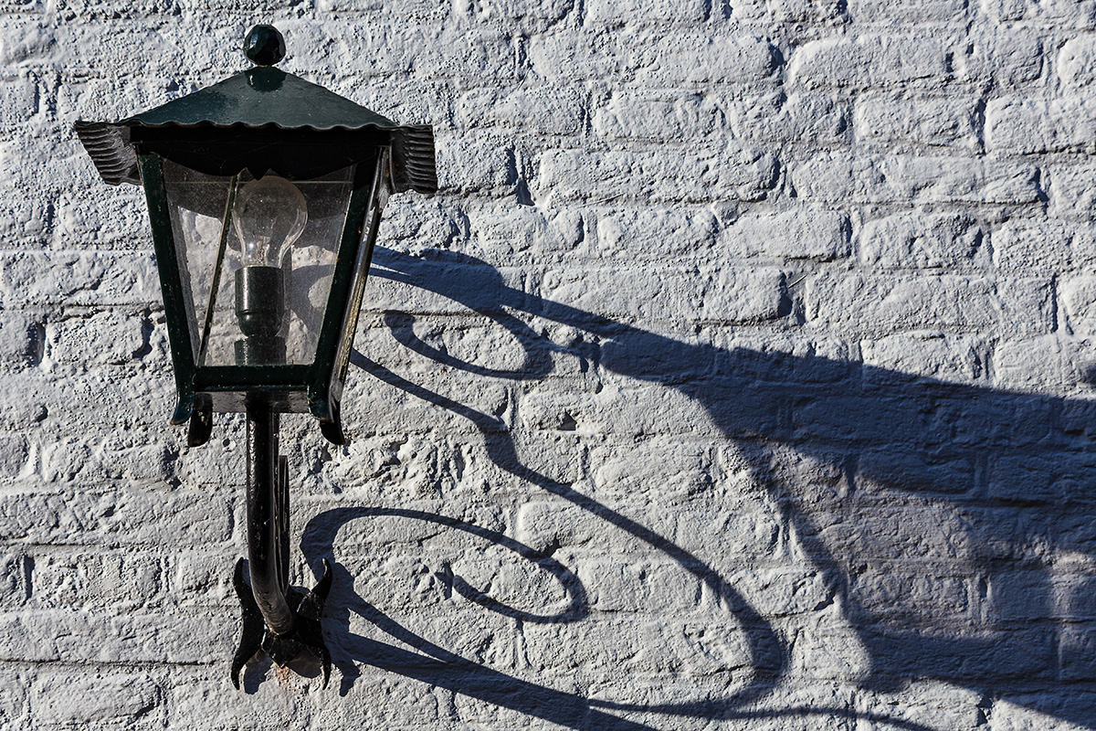 Old lamp.