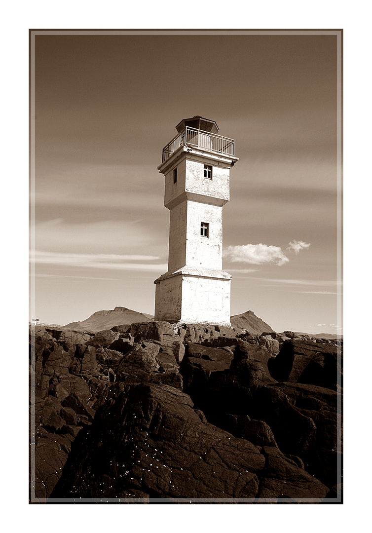 Old Lighthouse Akranes