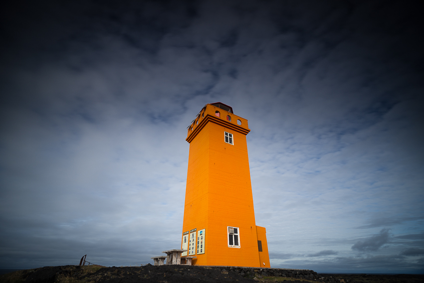 old lighthouse of Iceland