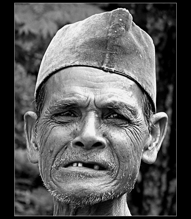 Old Man Expression