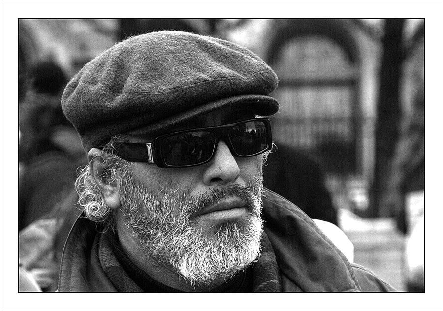 Old man in Paris
