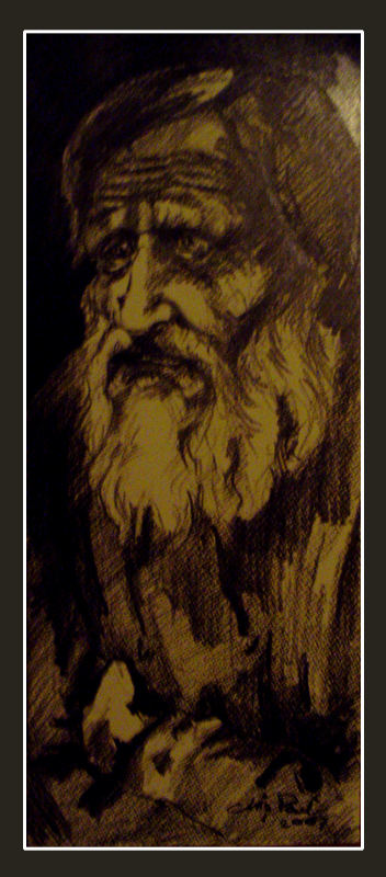 old man (rusian model)