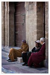 Old men in Essaouira
