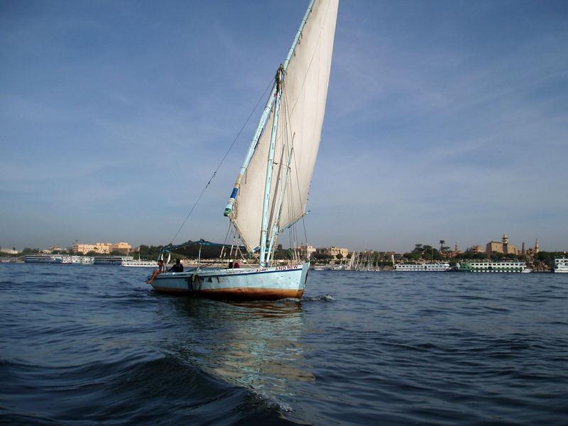 Old Nile in old Luxor