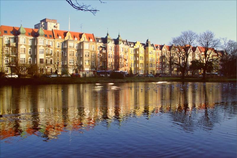 Old part of Stettin