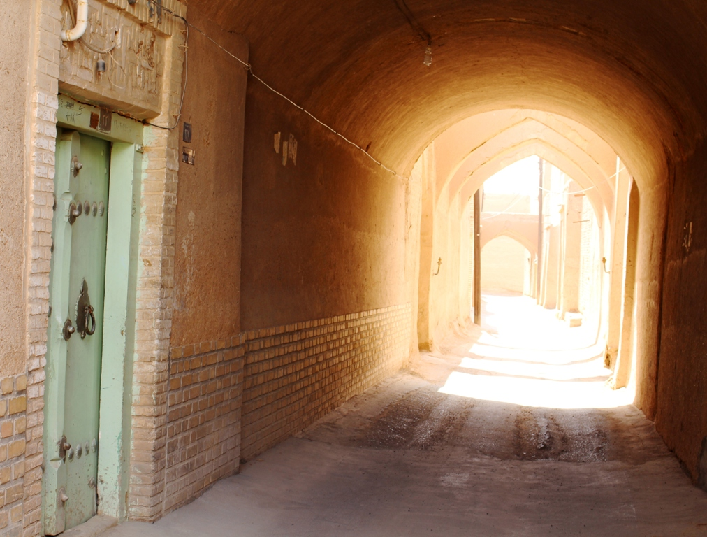 Old parts of Yazd city 1