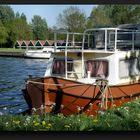 Old pleasure boat