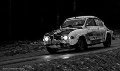 old Rallye Saab ...